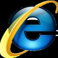Microsoft Internet Explorer 7 logo